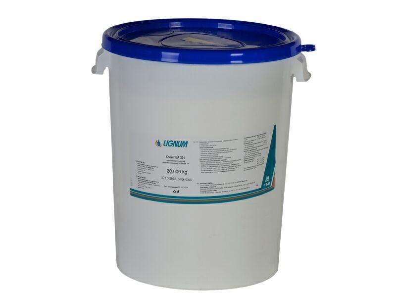 Клей однокомпонентный LIGNUM 301, 28 кг, Д3